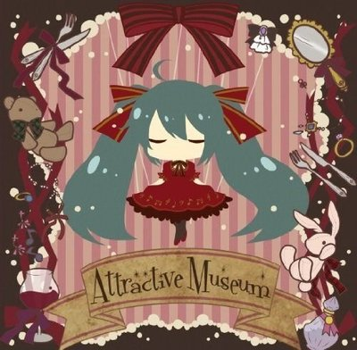 初音MIKU OSTER PROJECT [ATTRACTIVE MUSEUM] (日版初回CD+DVD盤+樂譜) 全新