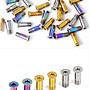 飛馬單車,Ti TC4內六角鈦合金M5*14mm,SHIMANO 鈦合金後變導輪螺絲非64鈦Ti6AL4V,32鈦