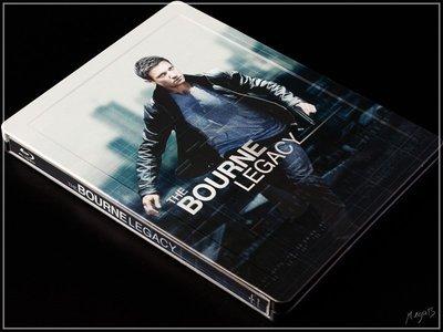 【BD藍光】神鬼認證 4:獨家限定凹凸框字體鐵盒版The Bourne Legacy(英文字幕)