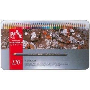 板橋酷酷姐美術   CARAN D' ACHE 卡達畢卡索PABLO120色油性色鉛筆 激安特賣!
