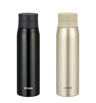 【TIGER 虎牌】夢重力 超輕量 不鏽鋼保溫杯 保溫瓶 保冷瓶 600cc MCY-A060 600ML