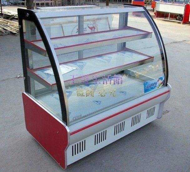【凱迪豬廠家直銷】豪華三層1~1.3M蛋糕櫃 蛋糕冷藏櫃展示櫃保鮮櫃冰櫃小菜櫃