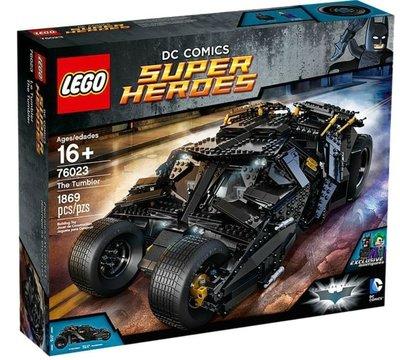 全新未開盒   Lego 76023 The Tumbler