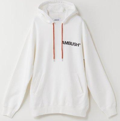 全新現貨 AMBUSH PRINT HOODIE 經典 流蘇 Logo字體 連帽帽Tee 重磅 吳亦凡著 Nike