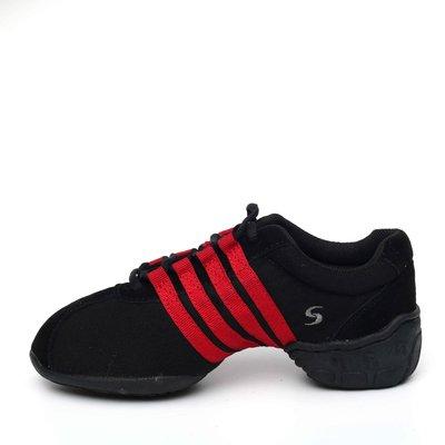 Afa安法國標舞鞋/ 拉丁舞鞋~~多功能運動舞鞋 原價$2, 300~~70606 紅色邊條 台北市