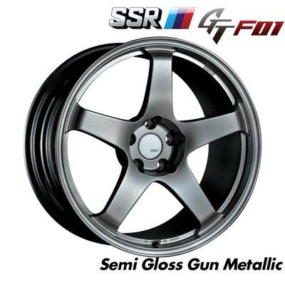 日本 SSR 鋁圈 GTF01 槍灰 16吋 17吋 18吋 19吋 20吋 100 114 五孔 5/114.3