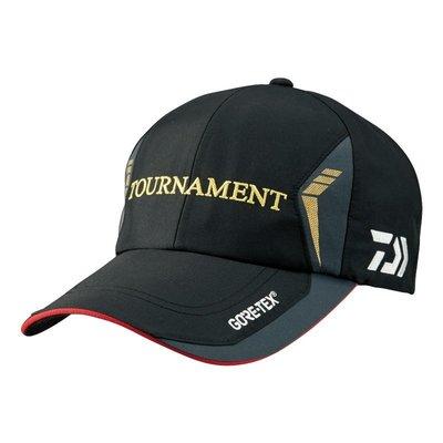 【NINA釣具】DAIWA TOURNAMENT DC-1206 黑色/灰色 防曬釣魚帽子