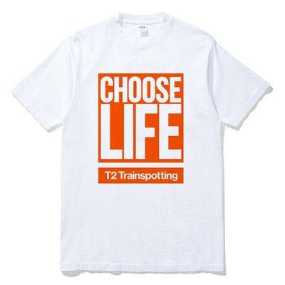 Choose Life Box 短袖T恤 白色 猜火車電影Trainspotting