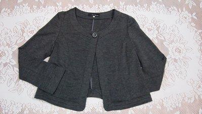 CLEAR IMPRESSION(日本製)長袖短版毛料外套