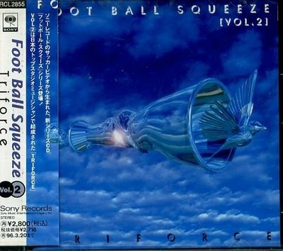 K - FOOT BALL SQUEEZE - TRIFORCE - 日版 - NEW
