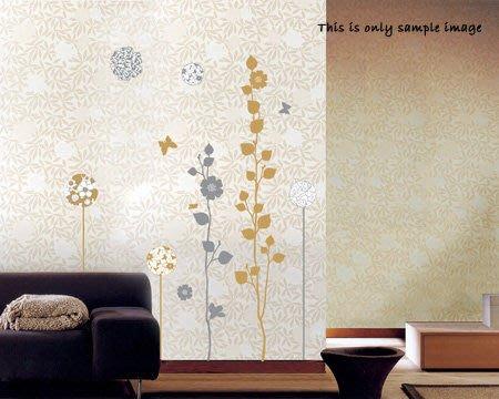 【皮蛋媽的私房貨】韓國壁貼&壁紙*室內設計/裝飾*高質感金銀樹