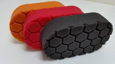 愛車美*~Euro Foam Applicator進口六角龜殼手拋棉系列 非Chemical Guys LC CG 美光