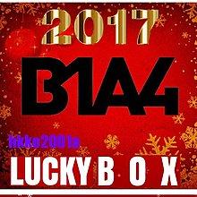 B1A4 [ 2017 聖誕快樂 Lucky Box ] 現貨在台-hkko2001a-幸運盒 週邊應援