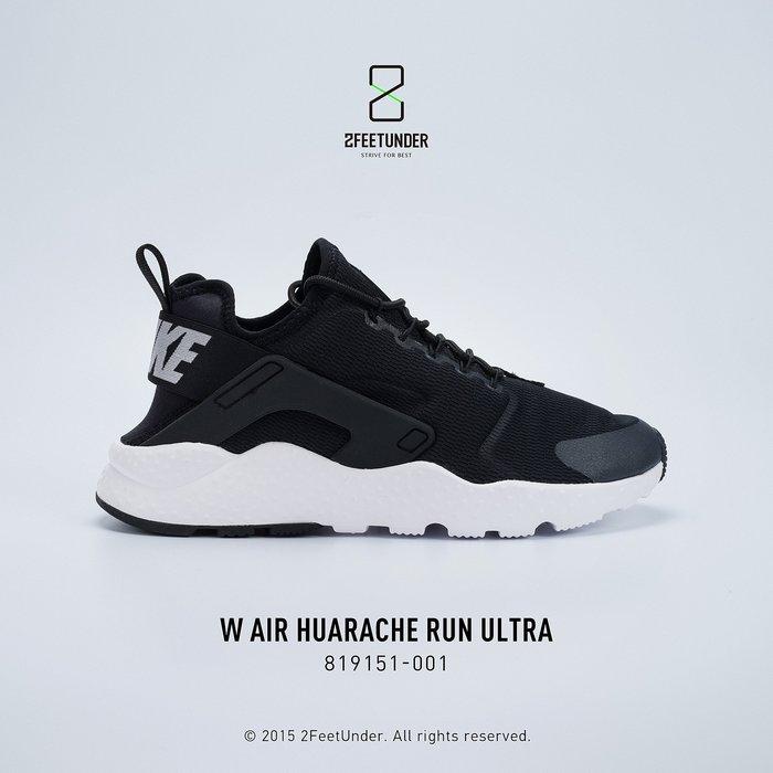 2FeetUnder - Nike Air Huarache Run Ultra 黑白武士 女款 819151-001
