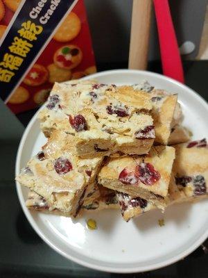Ann s Baking 手作 涮嘴零食  蔓越莓雪花餅 200克