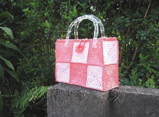 紙線網包材料包~多色任選!手工藝材料 、編織書、夏紗、編織工具、進口毛線、麻繩~【彩暄手工坊】