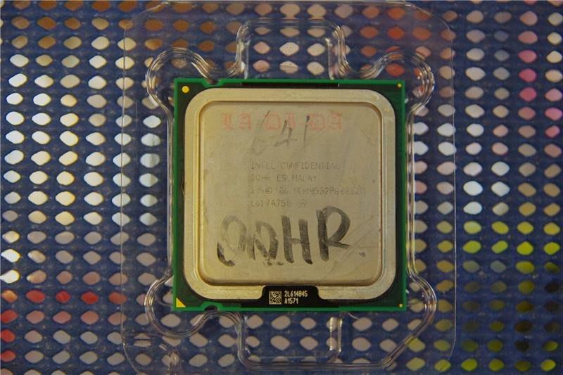 Intel confidential QQHR 3.2G/800 工程版 775腳位 C94