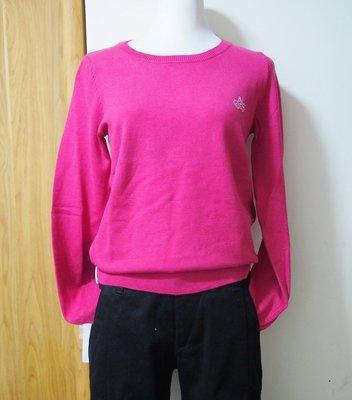 綠園~全新bossini針織衫 Viloft 親膚質感 優質皇冠水鑽 舒適  桃色  黑色 超低折扣
