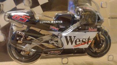 1:12 Minichamps Honda NSR 500 Loris Capirossi 2001 West 菸商版