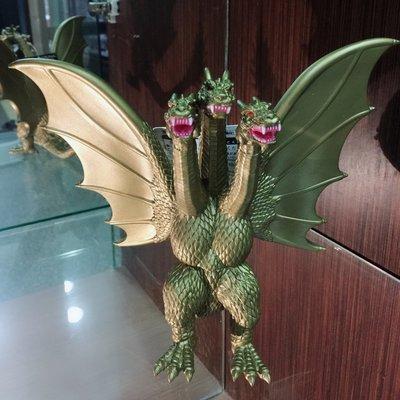 【晴晴百寶盒】日本高品質恐龍!三頭龍 黃金基多拉 王者恐龍 收藏收集戰鬥恐龍 禮物禮品獎品 益智遊戲 CP值高 J013