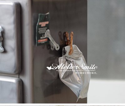 [ Atelier Smile ] 鄉村雜貨 北歐風 / 金屬文具系列 / Dulton 磁鐵夾 冰箱貼 5入(現+預)