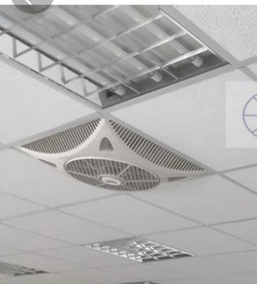 台灣製造MIT 大風量輕鋼架空調節能扇 1580- 循環節能扇、天花板風扇冷氣辦公室首選 大量購買可優惠