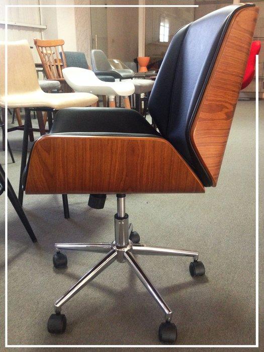 [ 椅子王 ] ----- LOFT復古  ALSTON 中型辦公椅