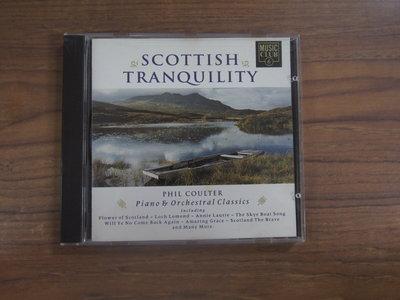 ◎MWM◎【二手CD】Scottish Tranquility 光碟歐版,無ifpi