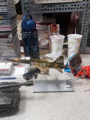 {詠鑫}-早期鋁製F5E戰機-軍機-飛機-中小型的較少-原汁原味-老味無敵十足-