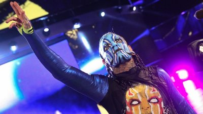 [美國瘋潮]正版WWE Jeff Hardy Obsolete T-shirt 陳腐面具Hardys戰鬥臉譜款衣服熱賣
