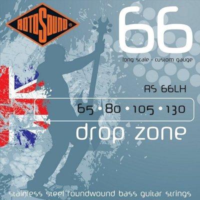 ☆ 唐尼樂器︵☆ 英國 ROTO SOUND 四弦貝斯弦 RS66LH (65-130)