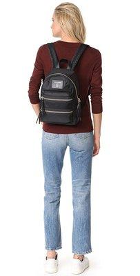 ╭☆包媽子店☆ Marc Jacobs Nylon Biker Backpack 尼龍布雙肩包 小號((新版))