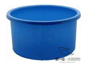 [第一佳‧水族寵物]台灣 MB 圓型觀賞用魚桶 [MB300-300L]雙色塑膠養殖桶.活魚桶.養蓮花.塑膠桶.普力桶