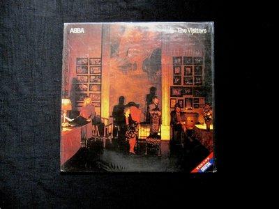絕版黑膠唱片----ABBA----THE VISITORS