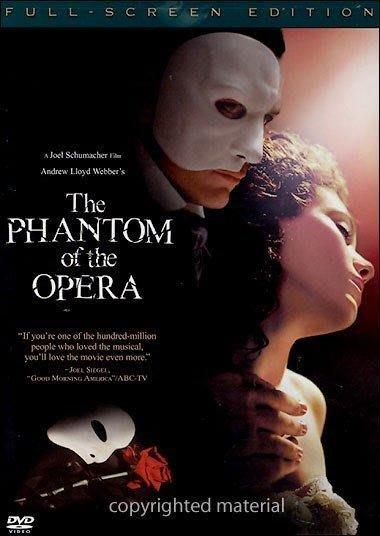 美版一區DVD~歌劇魅影The Phantom Of The Opera/2004電影版~全新