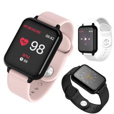 外貿爆款B57C智能手表手環心率血壓健康手表彩色觸摸屏防水計步器-zx033