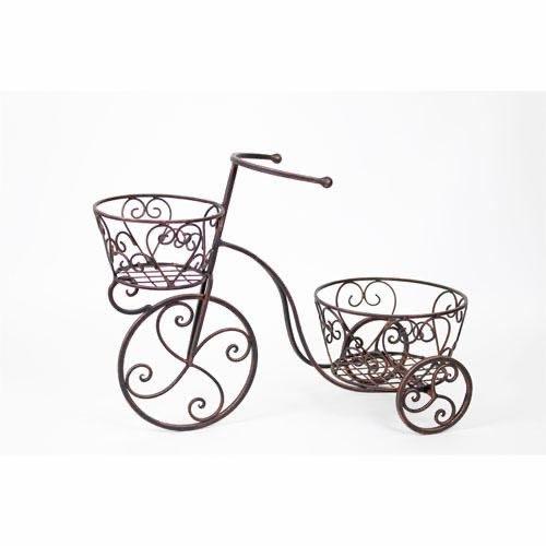 雙籃自行車花器(大)