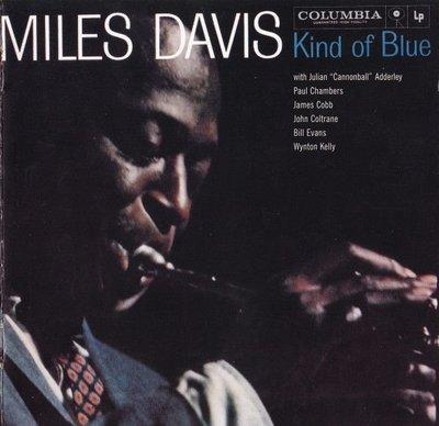 【進口版】泛藍調調 Kind Of Blue / 邁爾士戴維斯 Miles Davis ---- 88697439232