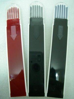 YT(宇泰五金)正台灣製LEADS自動工程筆專用筆芯/工程筆芯2.0mm/一盒12支裝/黑色下標區