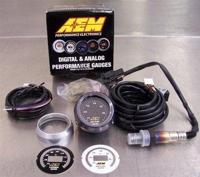 =1號倉庫= AEM 30-4110 數位 廣域 AFR 空燃比錶 LSU 4.9 感知器