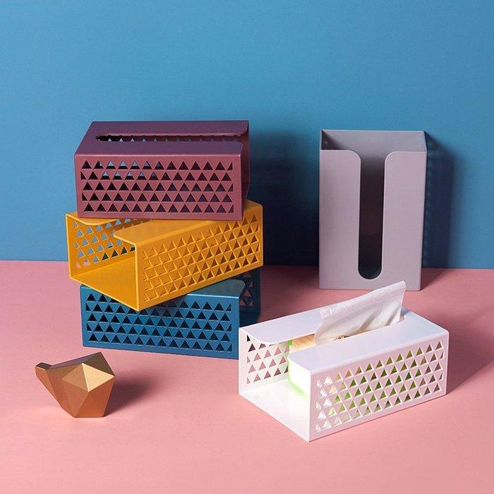紙巾盒 北歐風 客廳 壁掛式 廚房 餐巾紙盒 辦公室 收納盒 收納籃 收納箱 衛生紙收納 衛生紙盒 衛生紙 桌上收納