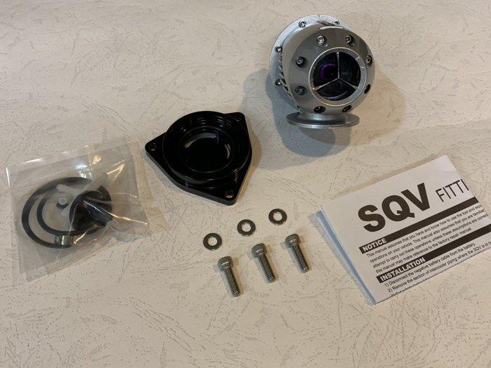 ☆光速改裝精品☆HONDA CRV 5 1.5T SQV洩壓閥+渦輪洩壓閥座