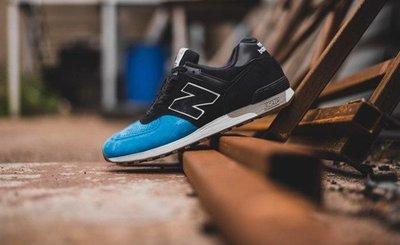 @ A - li 269 NEW BALANCE M576PNB 英制  黑藍 麂皮復古跑鞋
