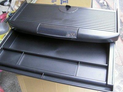 【40年老店專業賣家】全新【台灣製】【 2合一塑鋼ABS塑鋼滑軌式 電腦 鍵盤架+ 中抽屜 】
