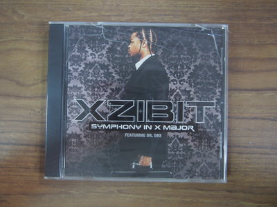 ◎MWM◎【二手CD】Xzibit-Symphony In X Major Featuring Dr.Dre 未拆封