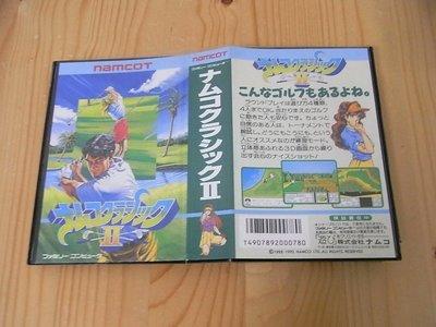 【小蕙館】.FC日版卡帶 ~ 拿姆科高爾夫2 (盒裝)