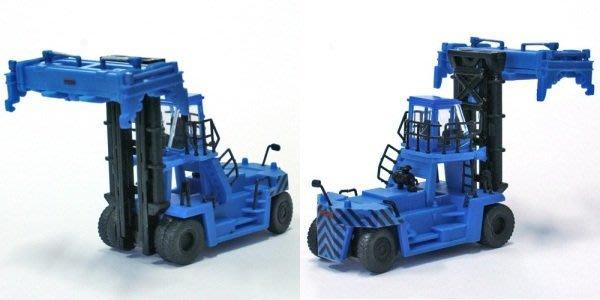 日版 1/150 N規 建設機械 特殊車輛 貨櫃搬運車 TCM FD430 限定版 藍青色 全新品