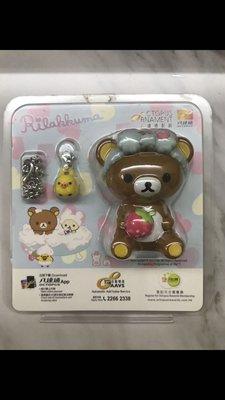 全新未開封 Korilakkuma 鬆弛熊 輕鬆小熊 啡熊 3D 成人八達通 連精美掛鏈
