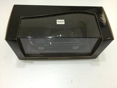 Minichamps Audi RS6 BLACK 黑