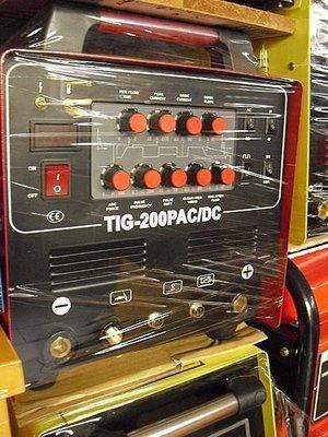 ㊣宇慶S舖㊣可刷卡分期台灣精品 勇焊OEM TIG-200P AC/DC 多功能交直流機 氬焊/電焊/鋁焊 皆可使用